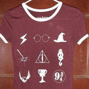 Harry Potter Youth XS Tee